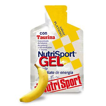 Nutrisport Platano Gel + Taurine (Sport , Resistance and energizers)