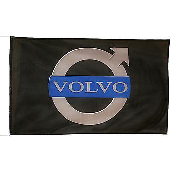Volvo large nylon flag 1500mm x 900mm    (of)