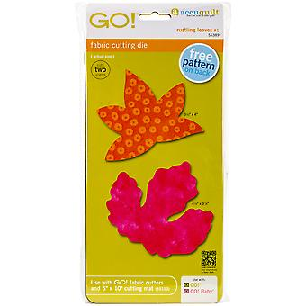 GO! Fabric Cutting Dies-Rustling Leaves #1 Sweetgum & Poplar Lar 55389