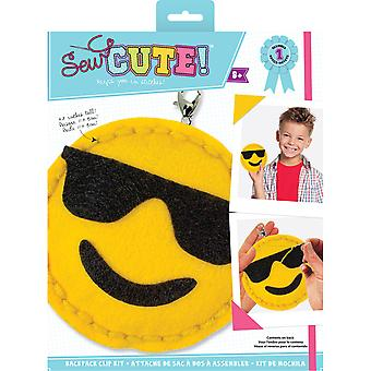 Sew Cute! Mini Felt Kit-Emoji Sunglasses SEWMINI-73616