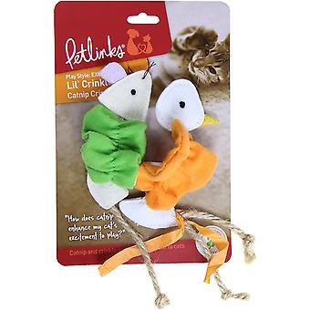 Pet Links Lil' Crinkles Crinkle Toy 2pk- 49662