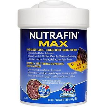 Nutrafin Max Livebearer Flakes 48gm