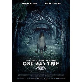 One Way Trip 3D Movie Poster drucken (27 x 40)