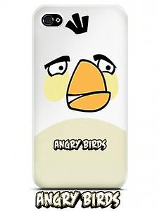 Gear 4 Angry Birds mobile phone protective case for iPhone 4 / 4 S white