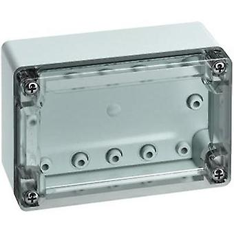Build-in casing 122 x 82 x 55 Polycarbonate (PC) Light grey (RAL 7035) Spelsberg TG PC 1208-6-to 1 pc(s)