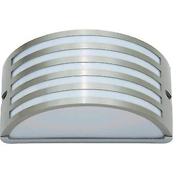 Outdoor wall light Energy-saving bulb, LED E27 60 W Brilliant Celica 96130/82 Stainless steel