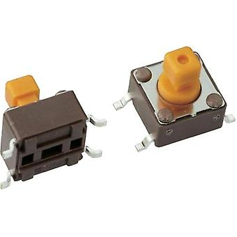 Pushbutton 12 Vdc 0.05 A 1 x Off/(On) Mentor 1254.1207 momentary 1 pc(s)