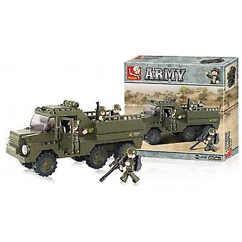 Sluban Building Blocks Army Serie Truck
