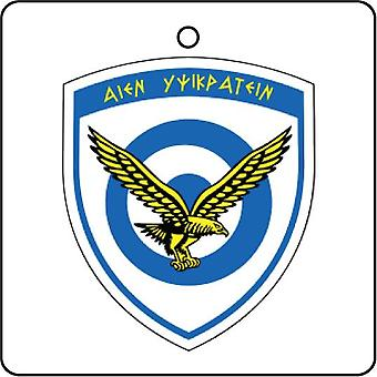 Greece Hellenic Air Force Seal Car Air Freshener
