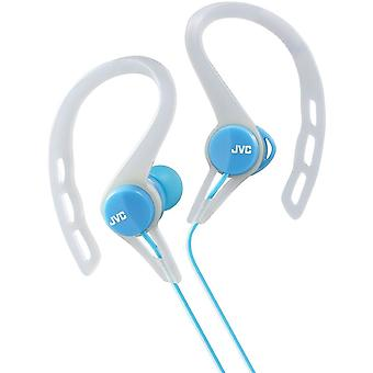 JVC Sports Clip Inner Ear Headphones - Blue (HAECX20A)