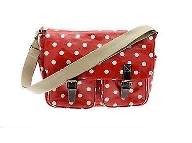 Dotty Saddle Bag Red