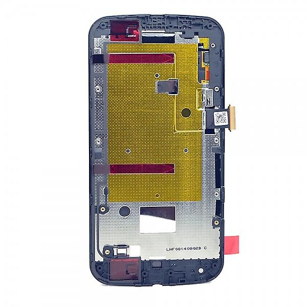 Display LCD complete unit with for Motorola Moto G2 XT1068 black