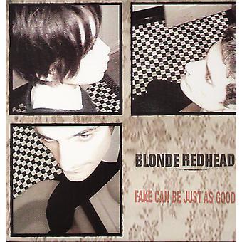 Blonde rødhåret - Fake kan være lige så god [Vinyl] USA importerer