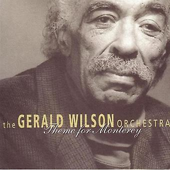 Gerald Wilson & His Orchestra - Theme for Monterey [CD] USA import