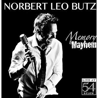 Norbert Leo Butz - hukommelse & Mayhem: Live på 54 nedenfor [CD] USA import