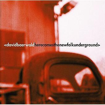 David Baerwald - her kommer nye Folk Underground [CD] USA importen