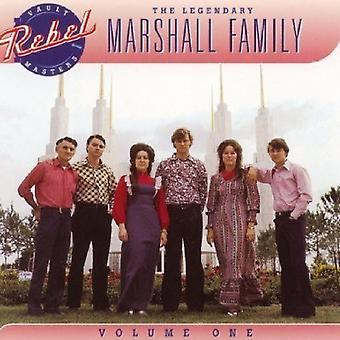 Marshall familien - Vol. 1-legendariske Marshall familien [CD] USA import