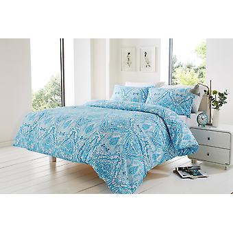 Bali Floral Modern Duvet Cover Bedding Set All Sizes