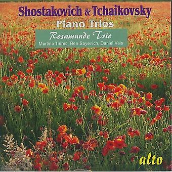 P.I. Tchaikovsky - Shostakovich & Tchaikovsky: Piano Trios [CD] USA import