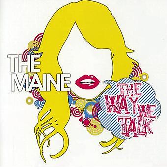 Maine - måde vi taler EP [CD] USA import