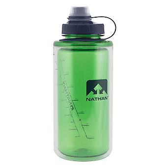 Nathan dobbelt shot flaske 0,75 l grøn 4315TNCAT