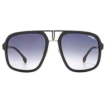 Carrera 1004 Square Aviator Sunglasses In Ruthenium Matte Black