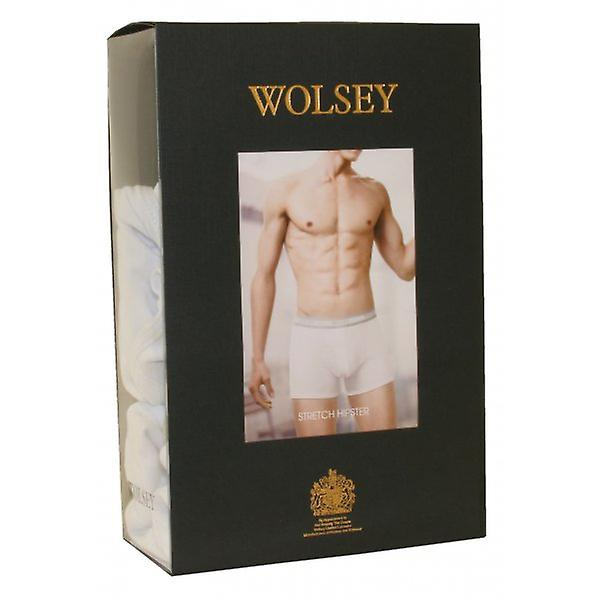 Wolsey 2-Pack Boxer Trunks, White