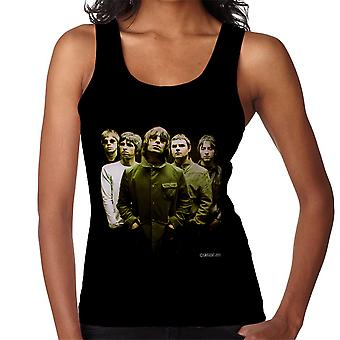 Oasis Band Liam Noel Gallagher Women's Vest