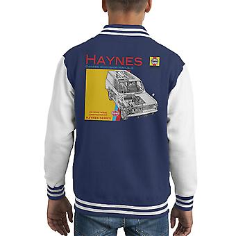 Haynes Owners Workshop Manual 0607 Bedford HA Van Kid's Varsity Jacket