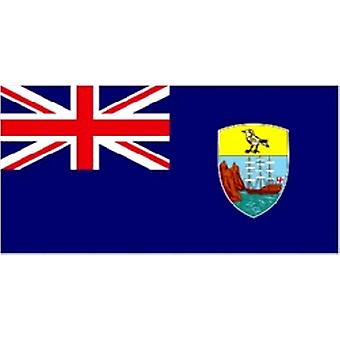 St. Helena/St. Helenian Flag 5ft x 3ft (100% Polyester) With Eyelets