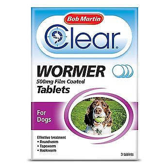 Bob Martin Clear Wormer Tablets Large Dog