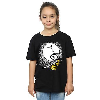 Disney Mädchen Nightmare Before Christmas Jack Lament T-Shirt