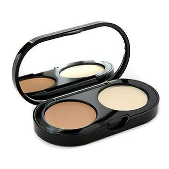 Bobbi Brown New Creamy Concealer Kit - Honey Creamy Concealer + Pale Yellow Sheer Finished Pressed Powder - 3.1g/0.11oz