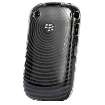 High Gloss Silicone Case Cover TPU for BlackBerry Curve 9300 8500 8520 8530 (Cle