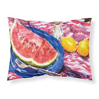 Carolines Schätze 6028PILLOWCASE Wassermelone Feuchtigkeit Feuchtigkeitstransport Stoff standard