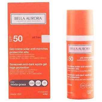 Bella Aurora Solar-Gel Anti-Stain Mischhaut Fat SPF 50 50 ml