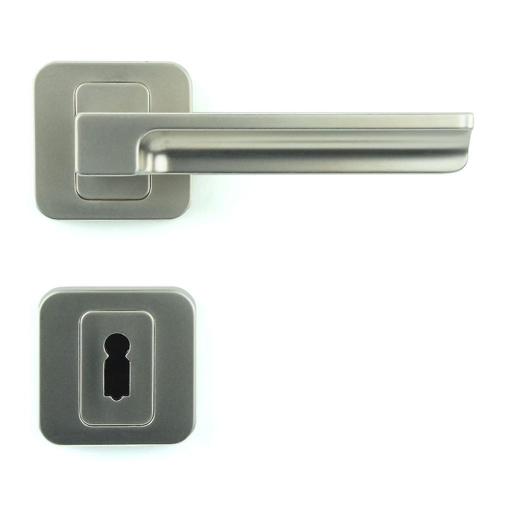 Premium Quality M4TEC ZA5 Interior Door Handle – Made Of Die-Cast Zinc – Gloss Nickel -Plated Finish – Sturdy, Durable & Easy To Install – Elegant & Classy Design - Ideal For Room Entrance Doors