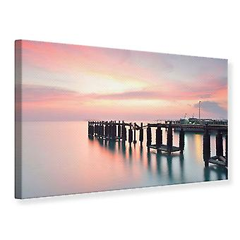 Canvas Print The Soothing Sunset