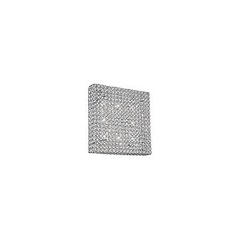 Ideal Lux - Admiral Large Square Flush Fixture Idl080352
