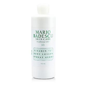 Mario Badescu Vitamin E Body Lotion (Wheat Germ) - For All Skin Types - 472ml/16oz