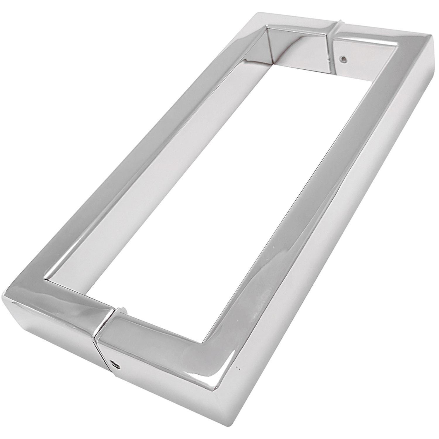 175mm Shower Door Handles (17.5cm Hole to Hole) - Stainless Steel