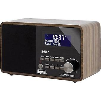 DAB+ Table top radio Imperial Dabman 100 AUX, DAB+, FM Wood