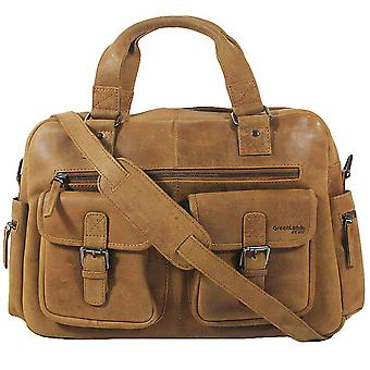 Greenland nature light leather business bag XL 1306-24