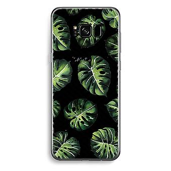 Samsung Galaxy S8 Transparent Case - Geometric jungle