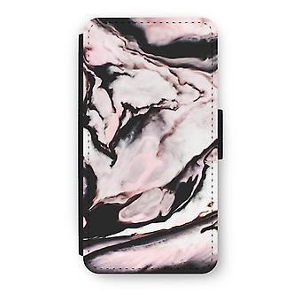 iPod Touch 6 Flip Case - Pink stream
