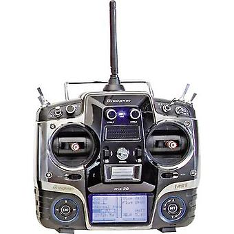 Graupner MX-20 Hott Handheld RC 2,4 GHz No. of channels: 12