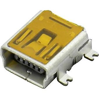 Socket, horizontal mount DS1104-B60SRS Connfly Content: 1 pc(s)