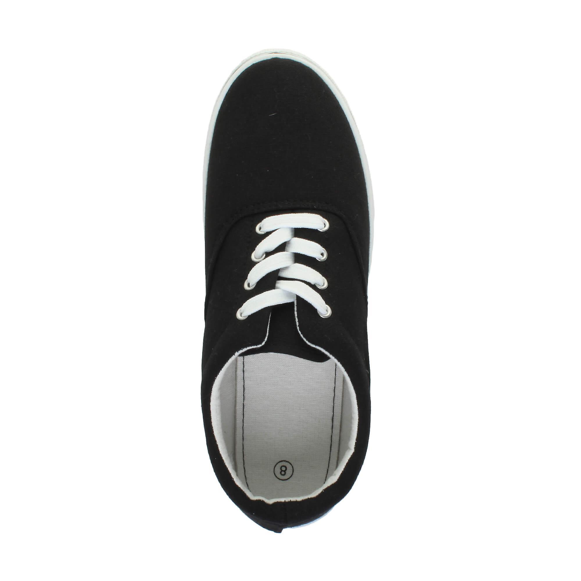 up Ajvani pumps lace trainers plimsolls shoes plimsoles canvas flat mens casual zAcHwzTOq