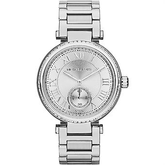 Michael Kors Ladies Womens Watch Silver MK5866