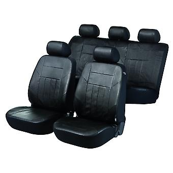 Soft Nappa Car Seat Cover Black Artificial leather For Seat ALTEA 2004-2015